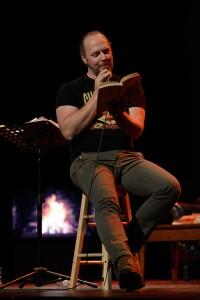 Fabien Cloutier. Photo par Valérie Remise.