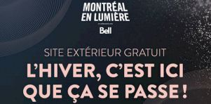 Programmation extérieure gratuite de Montréal en lumière 2018 | L'hiver c'est ici que ça se passe !