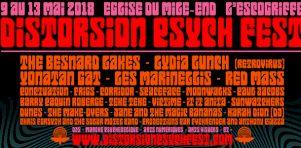 Distorsion Psych Fest 2018 | Une programmation… hallucinante, avec Lydia Lunch, Besnard Lakes, Yonatan Gat et plusieurs autres !