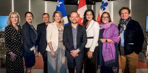 Rénovation du Théâtre Espace Libre |Les deux ministres de la culture présentes à la conférence de presse