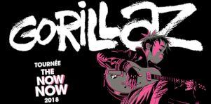 Gorillaz à Montréal en octobre 2018 !