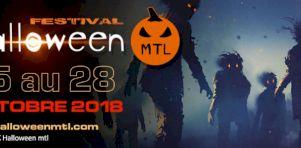 La première édition du festivalHalloween MTLdébarque à Montréal du 25 au 26 octobre 2018