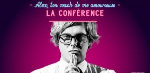 Alex Perron en tournée au Québec avec Ton Coach de vie amoureuse – La conférence en 2019