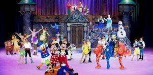 Disney sur glace célèbre 100 ans de magie au Centre Vidéotron en mars 2019