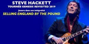 La tournée Selling England By The Pound de Steve Hackett s'amène à Montréal et Québec en septembre 2019