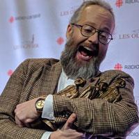 Gala Les Olivier | François Bellefeuille, grand gagnant