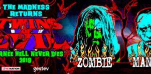 Twins of Evil : Marilyn Manson et Rob Zombie au Centre Vidéotron | Les jumeaux maléfiques font frémir Québec!