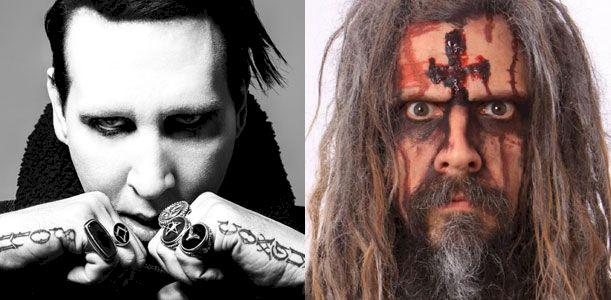 Rob Zombie & Marilyn Manson
