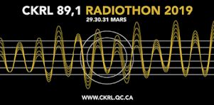 L'annuel Radiothon de CKRL se tiendra cette semaine