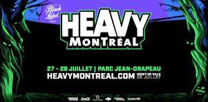 Heavy Montréal 2019 | La programmation par jour dévoilée