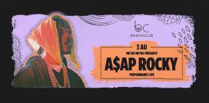 Tory Lanez et ASAP Rocky au Beach Club à l'été 2019