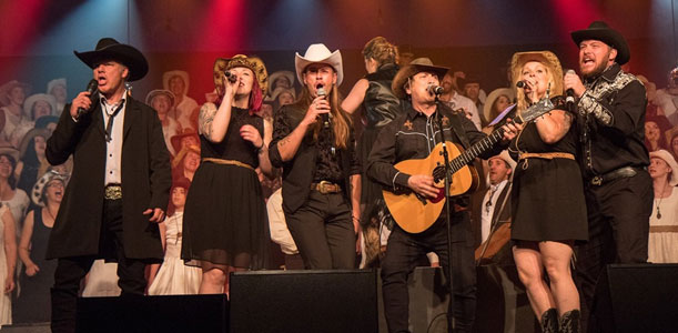 Nous on aime le country
