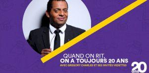 ComediHa! Fest-Québec 2019 |Quand on rit, on a toujours 20 ans : Gregory Charles, son band et ses invités pour les 20 ans du festival