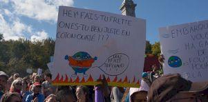 #sorsdetazone | Quand les artistes inspirent la Marche pour le climat à Montréal [photos]