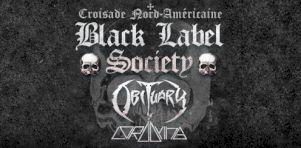 Black Label Society au Grand Théâtre de Québec en décembre 2020