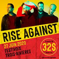 Rise Against au FestiVoix de Trois-Rivières 2020!
