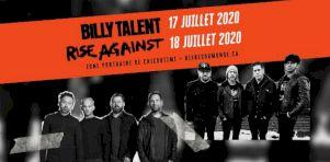 Festival Bières du monde de Saguenay 2020 | Billy Talent et Rise Against confirmés comme têtes d'affiche!