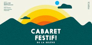 Le Cabaret Festif! de la relève 2020 se met en branle ce week-end!