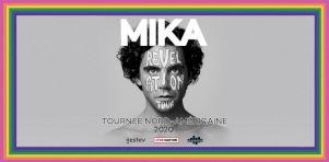 MIKA à Montréal et Québec en mai 2020