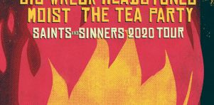 Saints and Sinners : Une tournée conjointe pour Big Wreck, Moist, The Tea Party et Headstones à Laval et Ottawa en juillet 2020