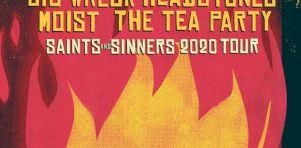 Saints and Sinners : Une tournée conjointe pour Big Wreck, Moist, The Tea Party et Headstones à Laval et Ottawa en juillet 2020