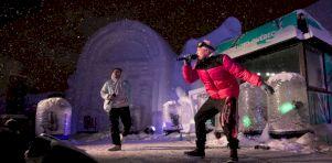 Carnaval de Québec 2020 | Blizzard de rap québ' avec FouKi et Alaclair Ensemble [33 photos]