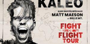 Kaleo à Laval en septembre 2020