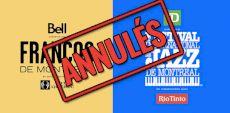 Les Francos et le Festival de Jazz de Montréal confirment l'annulation de l'édition 2020