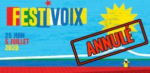 Festivoix de Trois-Rivières 2020 aussi annulé