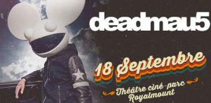 Deadmau5 en ciné-parc à Montréal et Ottawa en septembre 2020