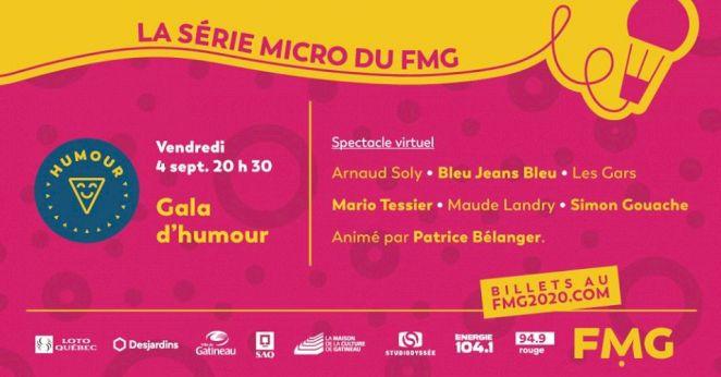 Gala d'humour du Festival des Montgolfières de Gatineau