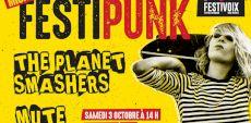 microFestiPunk | The Planet Smashers et Mute dans une piscine de Trois-Rivières!