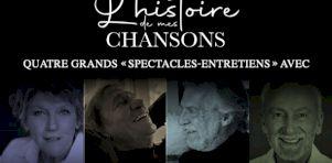 L'Histoire de mes chansons |Des spectacle-entretiens avec Clémence Desrochers, Jean-Pierre Ferland, Yvon Deschamps et Stéphane Venne à Longueuil en octobre 2020