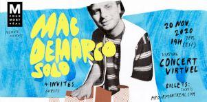 Mac Demarco en spectacle virtuel exclusif pour M pour Montréal 2020