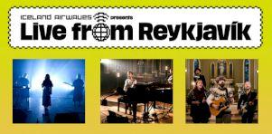 Live From Reykjavik | Tous réunis en Islande sur nos écrans