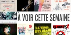 Spectacles virtuels | Les incontournables de la semaine