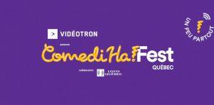 ComediHa! Fest-Québec 2021 | Une édition hivernale numérique en direct… de chez vous!