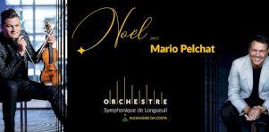 NOËL AVEC MARIO PELCHAT : Le concert numérique des fêtes de l'Orchestre symphonique de Longueuil d'Alexandre Da Costa et Mario Pelchat disponible dès aujourd'hui