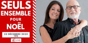 Seuls ensemble pour Noël : Patrick Norman et Nathalie Lord propose un spectacle de Noël sur Facebook Live