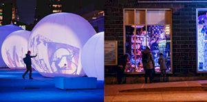 Luminothérapie et Les Fenêtres Fantastiques : Des sorties culturelles en extérieur pour toute la famille pendant les Fêtes 2020