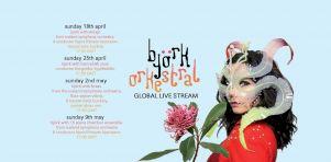 Björk offrira 4 concerts virtuels avec orchestre et chorale en avril et mai 2021!