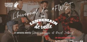 L'hivernal du Festival Western de St-Tite : Un concert virtuel avec Lendemain de Veille en mars 2021