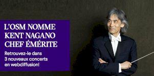 OSM |Le dernier tour de piste de Kent Nagano avec 3 concerts d'adieux