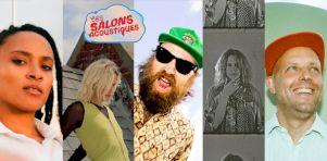 Les Salons acoustiques de retour avec Dany Placard, Ouri et Helena Deland, et Michael Feuerstack avec Erika Angell