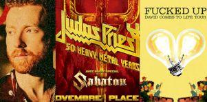 5 nouveaux spectacles annoncés aujourd'hui pour Montréal : De Judas Priest à Fucked Up!