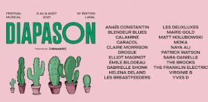Festival Diapason 2021 | Patrick Watson, Emile Bilodeau, Matt Holubowski et plusieurs autres à la programmation
