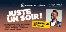 Juste un soir!  Un spectacle avec Corneille et plusieurs invités sur l'Esplanade du Stade Olympique en août 2021