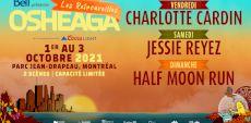 Les Retrouvailles Osheaga | Charlotte Cardin, Jessie Reyez et Half Moon Run en festival au Parc Jean-Drapeau en octobre 2021!