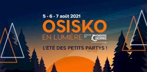 Osisko en lumière 2021 misera sur un spectacle de drones en tête d'affiche!