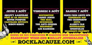 Rock la cauze 2021 | Death From Above 1979, Silverstein, Danko Jones dans un festival punk-métal à Victo en août!